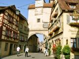 ロマンティック街道 - ローテンブルクの街並み Rothenburg