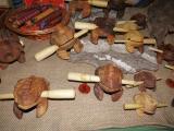 ジークブルクの中世風クリスマスマーケット