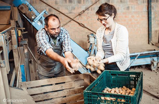 農家と協力